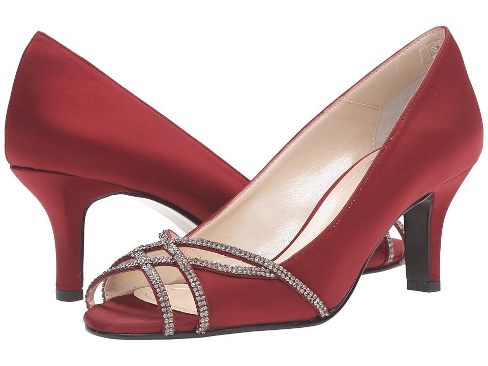 Caparros Eliza (Garnet Satin) High Heels