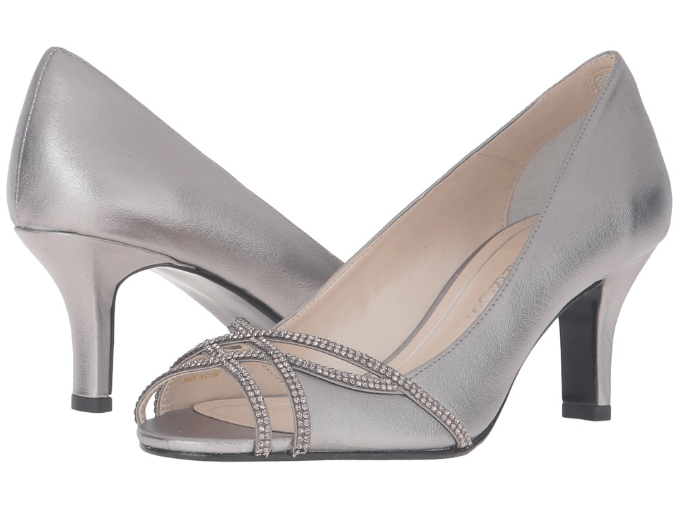 Caparros Eliza (Pewter Metallic) High Heels