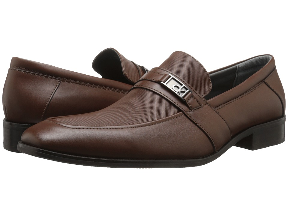 Calvin Klein - Galvin (Brown Smooth Leather) Men's Shoes