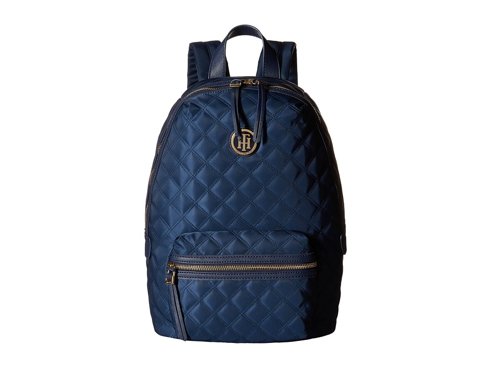 Tommy Hilfiger - TH Quilted - Backpack (Navy) Backpack Bags