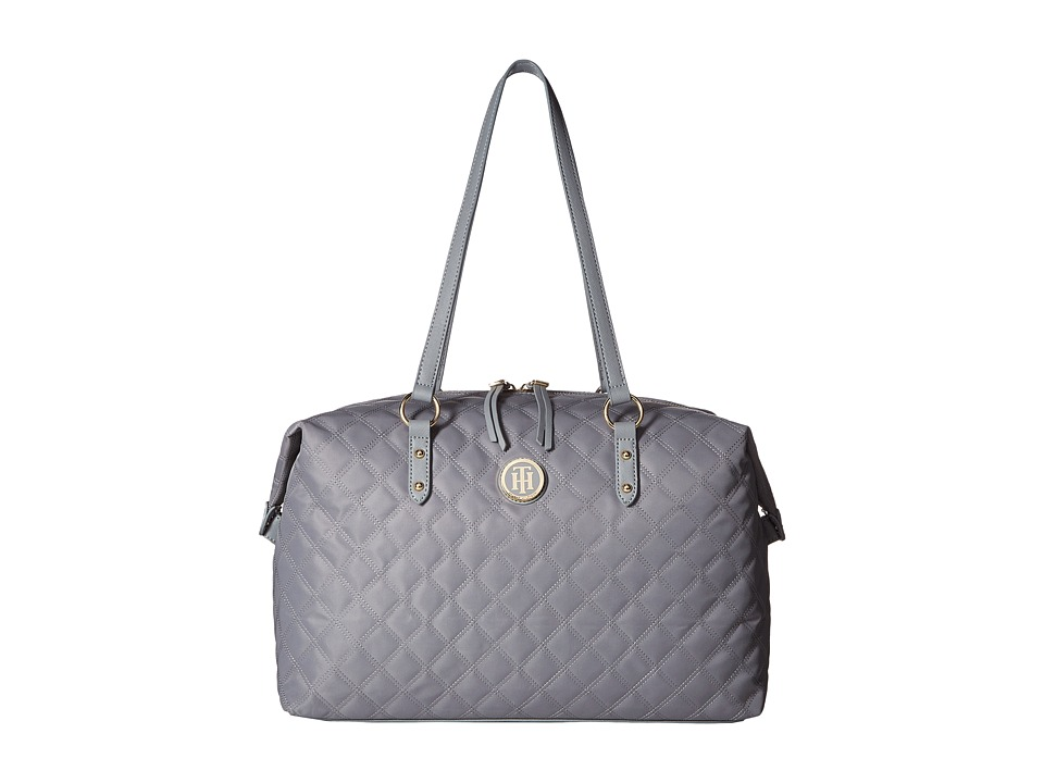 Tommy Hilfiger - TH Quilted - Weekender (Frost Gray) Weekender/Overnight Luggage