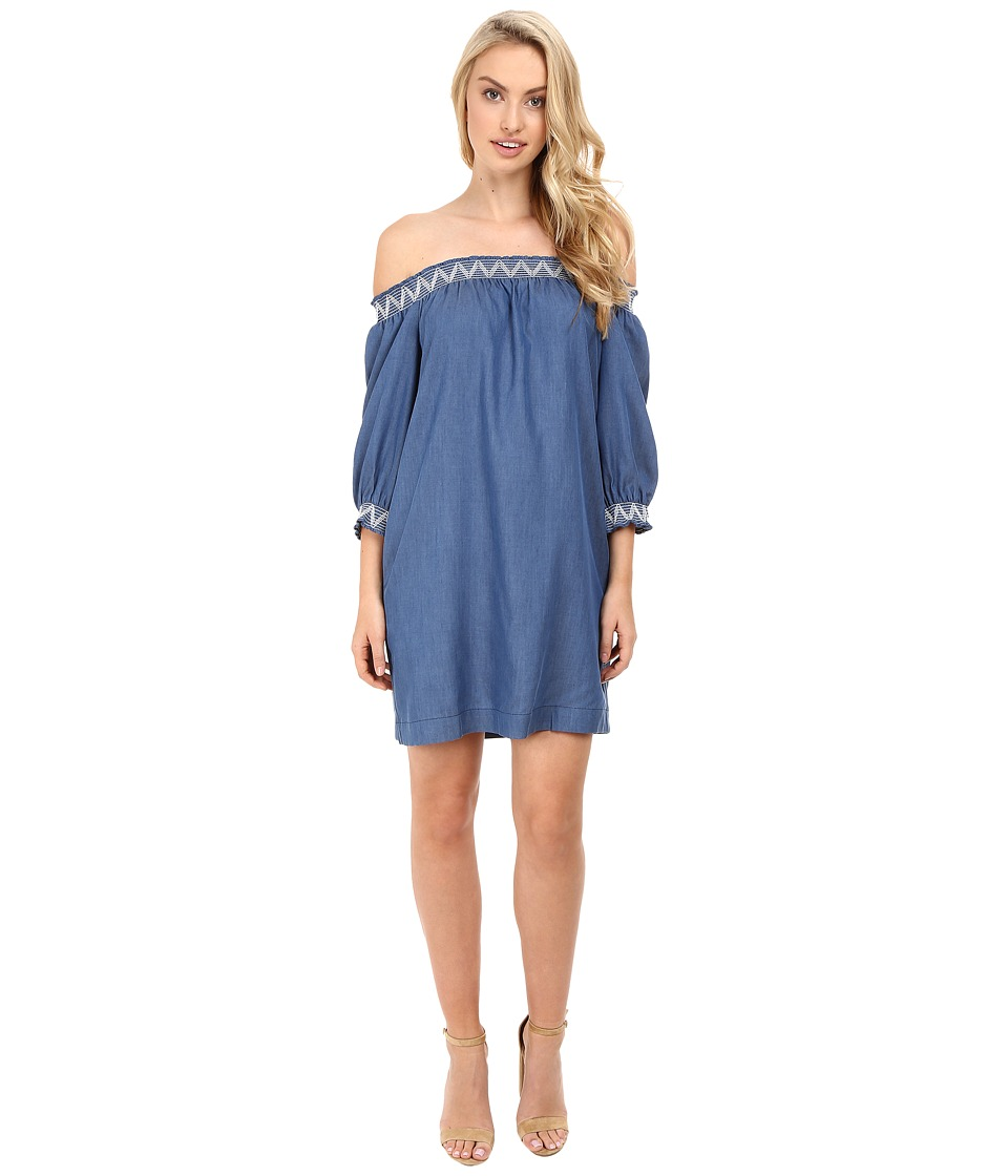 Trina Turk - Neville Dress (Indigo) Women's Dress