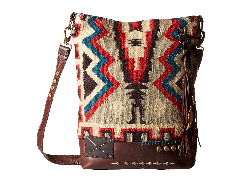 Double D Ranchwear - Sierra Vista Messenger Bag (Multi) Tote Handbags