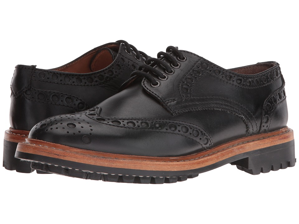 Lotus - Cavendish (Black Leather) Men's Shoes