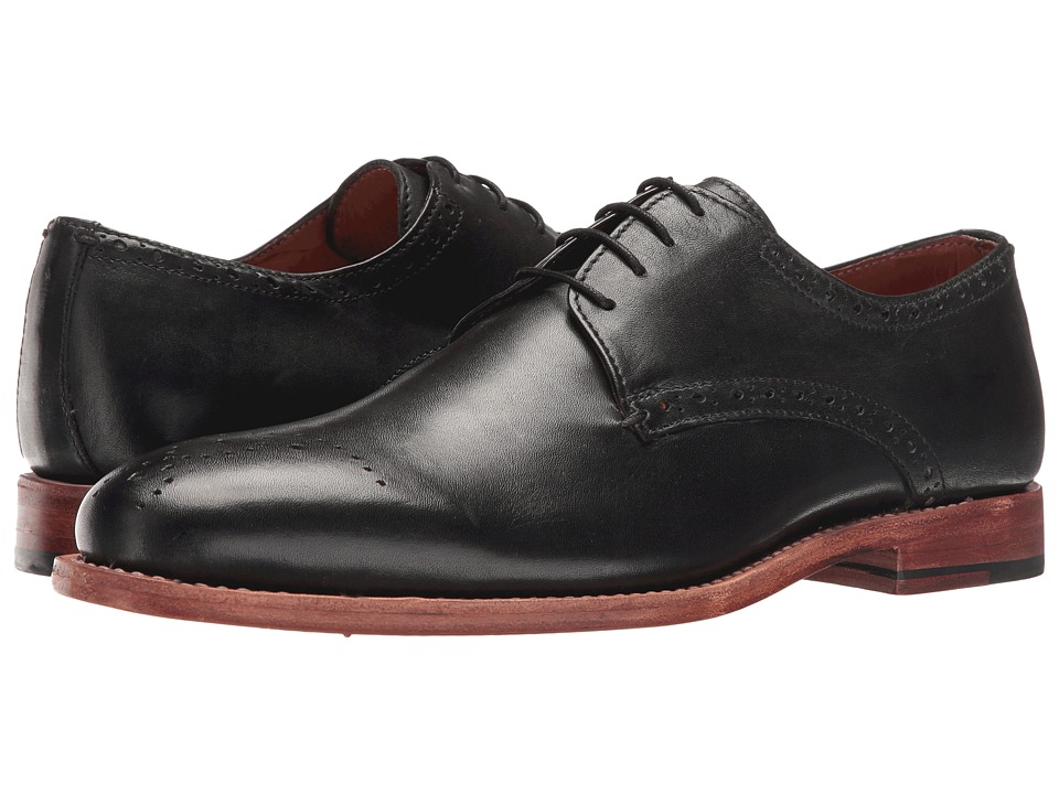 Lotus - Jeremiah (Black Leather) Men's Shoes