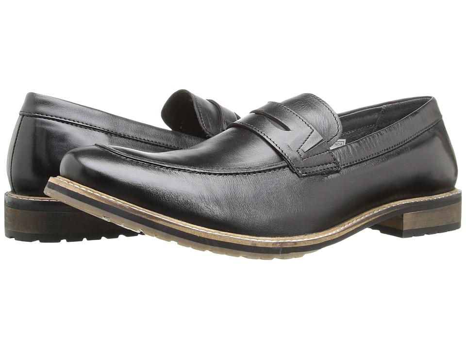 Lotus - Jensen (Black Leather) Men's Shoes