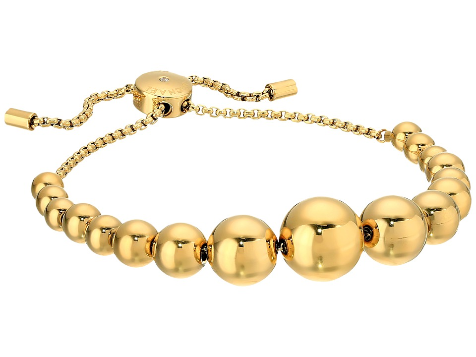 Michael Kors - Brilliance Slider Bracelet (Gold) Bracelet