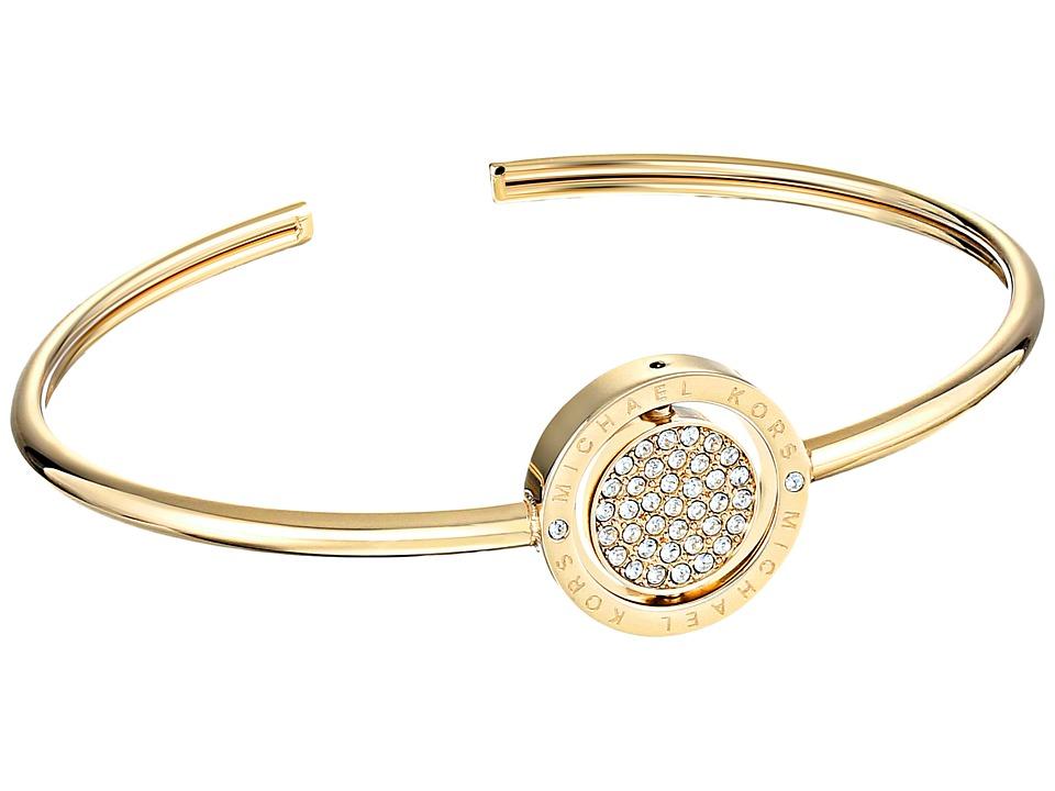 Michael Kors - Flip Glitz Bracelet (Gold/Clear) Bracelet