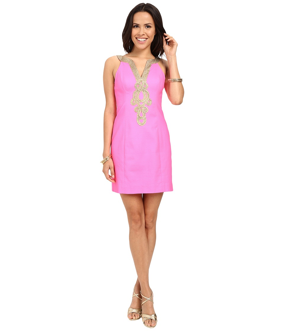 Lilly Pulitzer - Emery Shift Dress (Pink Pout) Women's Dress