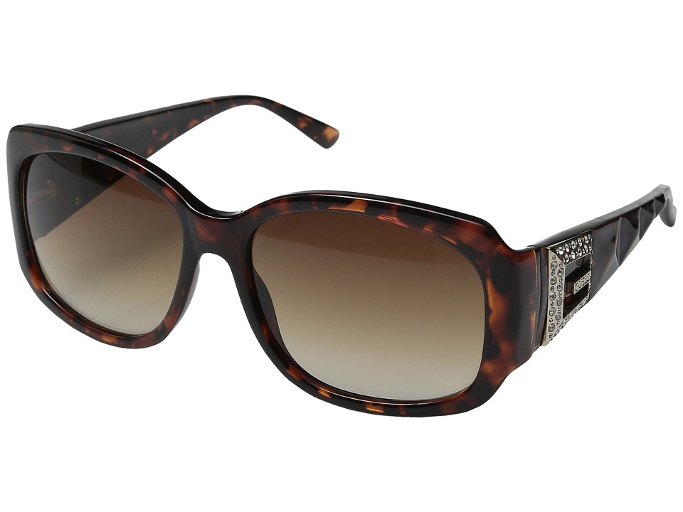 GUESS - GU7180 (Tortoise/Gradient Brown Lens) Fashion Sunglasses