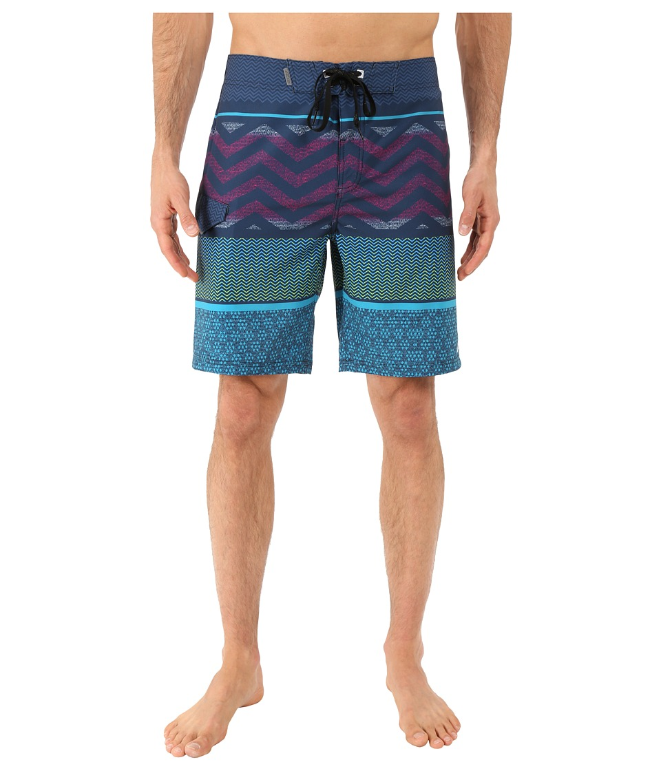 Alpinestars - Traction Boardshorts (Gray) Men's Swimwear