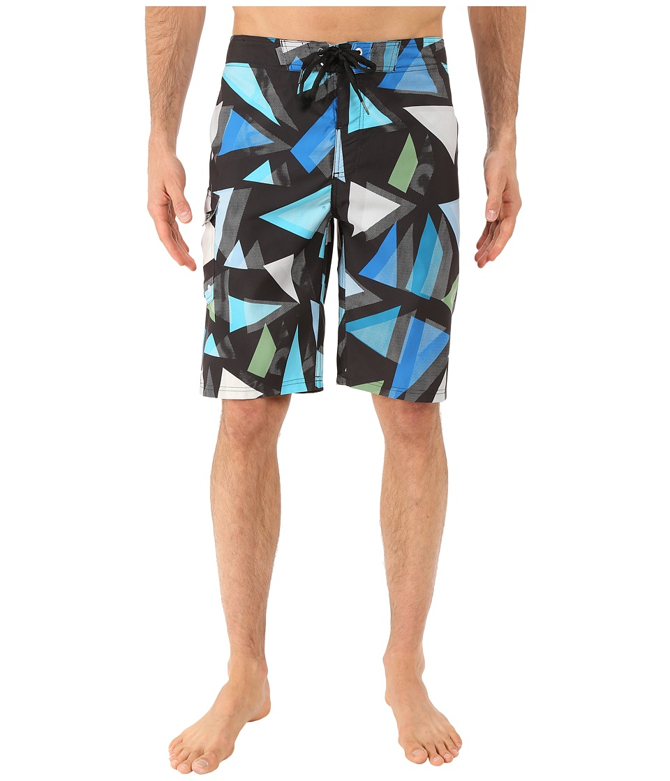 Alpinestars - New Wave Boardshorts (Black) Men's Swimwear