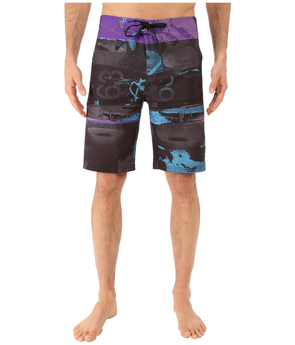 Alpinestars - Glitch Boardshorts (Black) Men's Swimwear