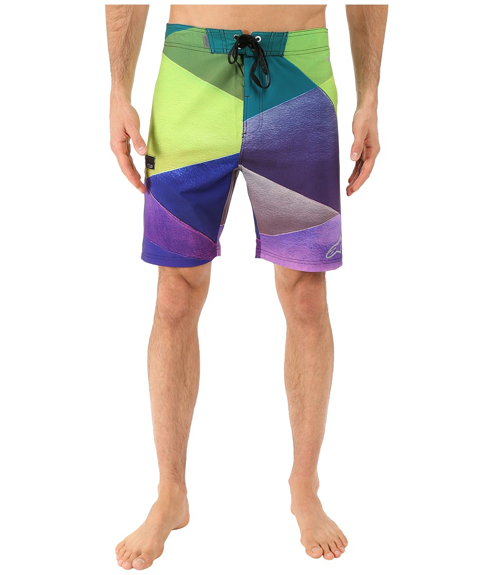 Alpinestars - Facet Boardshorts (Purple) Men's Swimwear