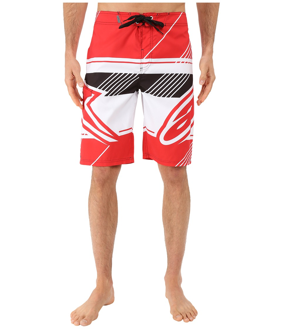 Alpinestars - Beta Boardshorts (Red) Men's Swimwear