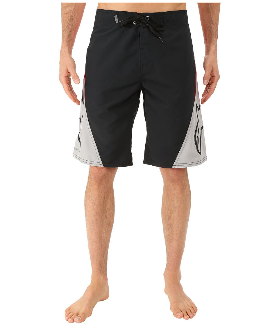 Alpinestars - The Arrival Boardshort (Black/Red) Men's Swimwear