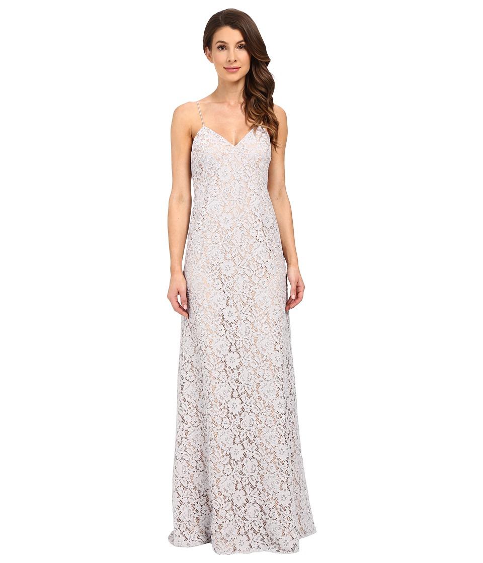 Donna Morgan - Gia Spaghetti Strap Slip Dress (Platinum) Women's Dress