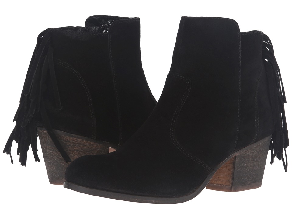 Matisse Espana (Black Leather Suede) Women
