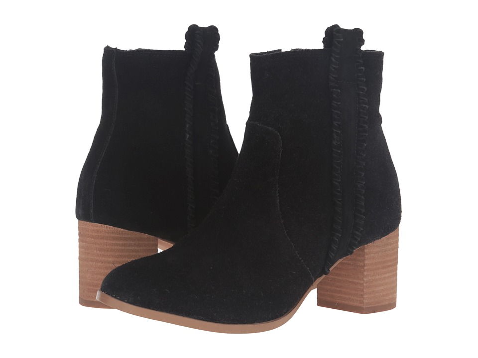Matisse - Trina (Black Leather Suede) Women's Boots