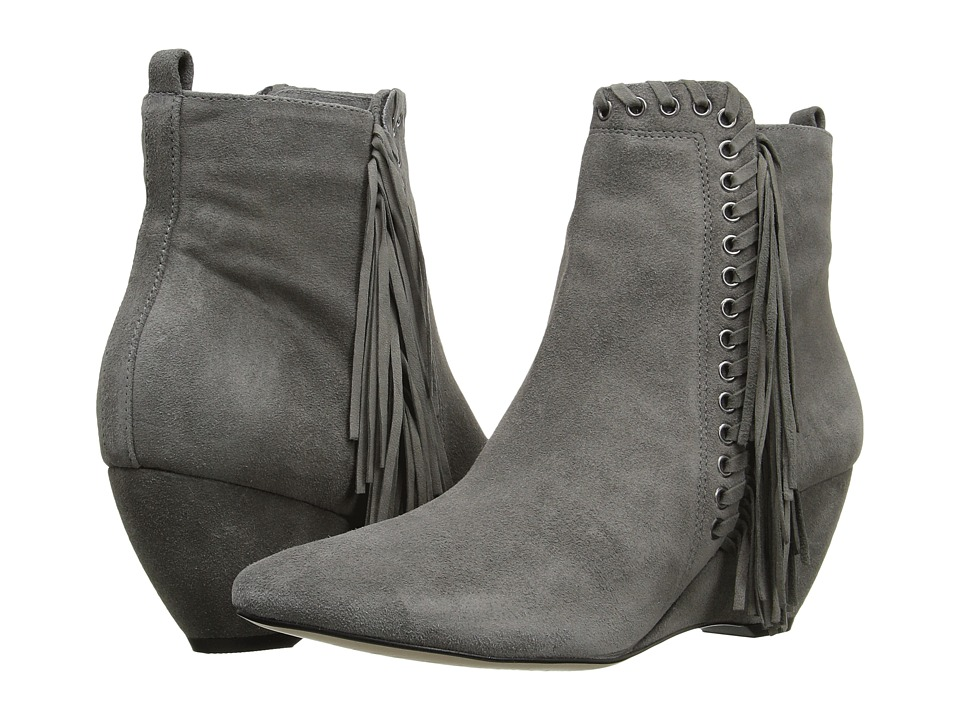 Matisse - Sissy (Grey Leather Suede) Women's Boots