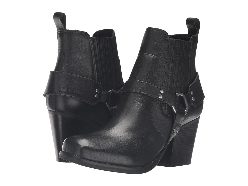 Matisse - Jasmin (Black Leather) Women's Boots