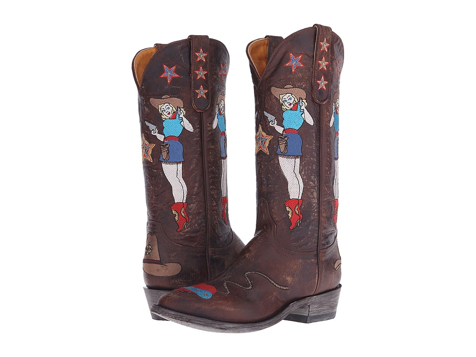 Old Gringo - Cowgirl Guns (Brass) Women's Shoes