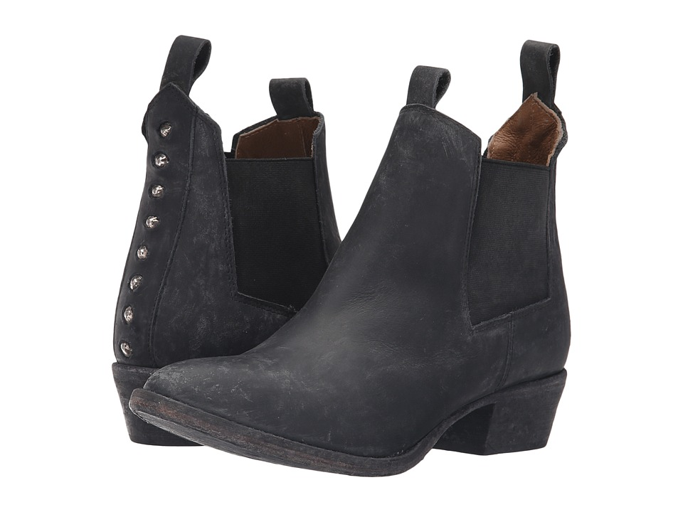 Matisse - Charleston (Black Leather) Women's Boots