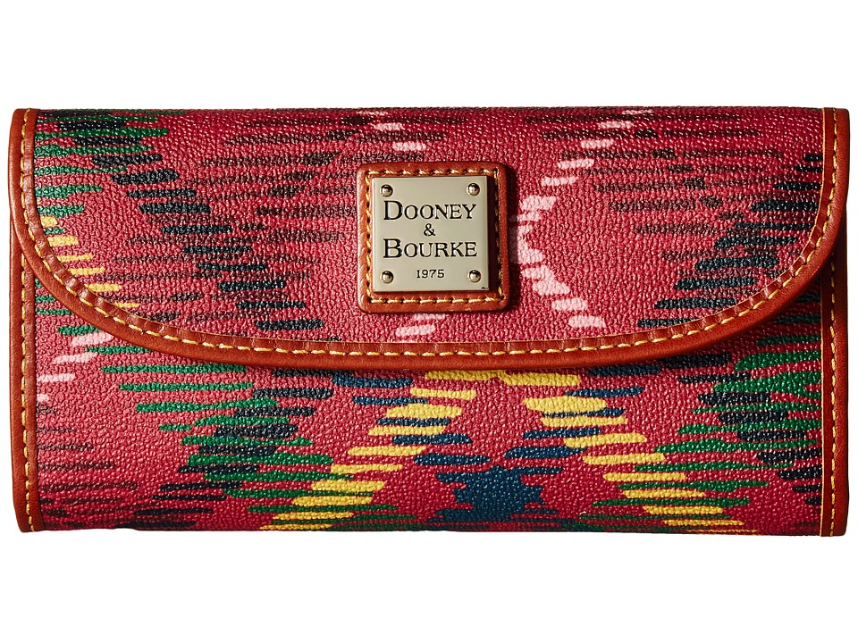 Dooney & Bourke - Durham Continental Clutch (Wine) Clutch Handbags