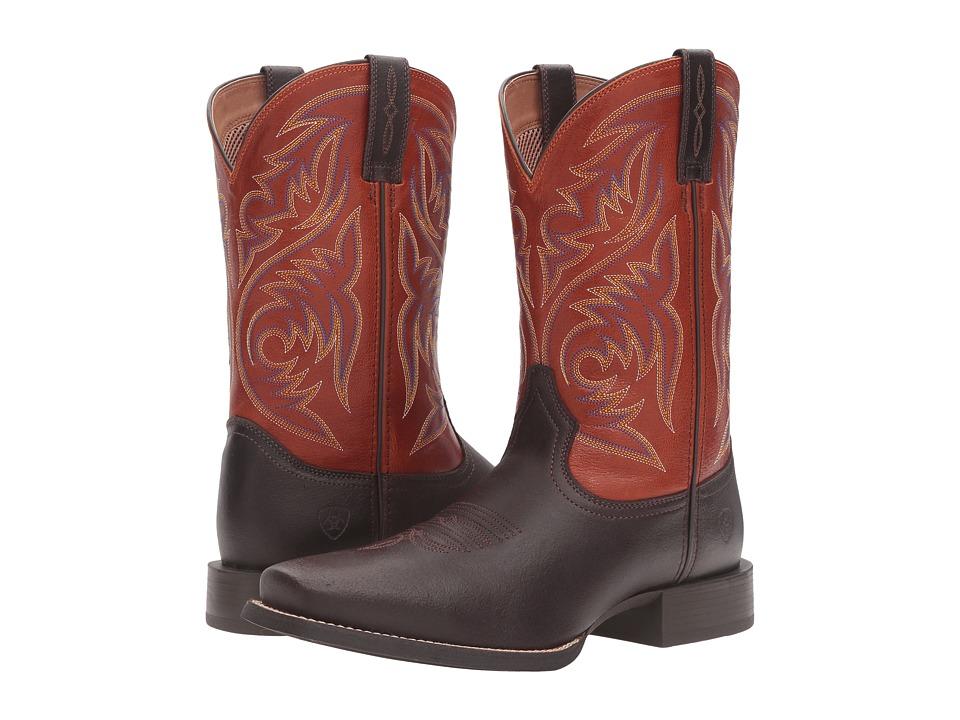 Ariat - Sport Herdsman (Java/Autuwn Dust) Cowboy Boots