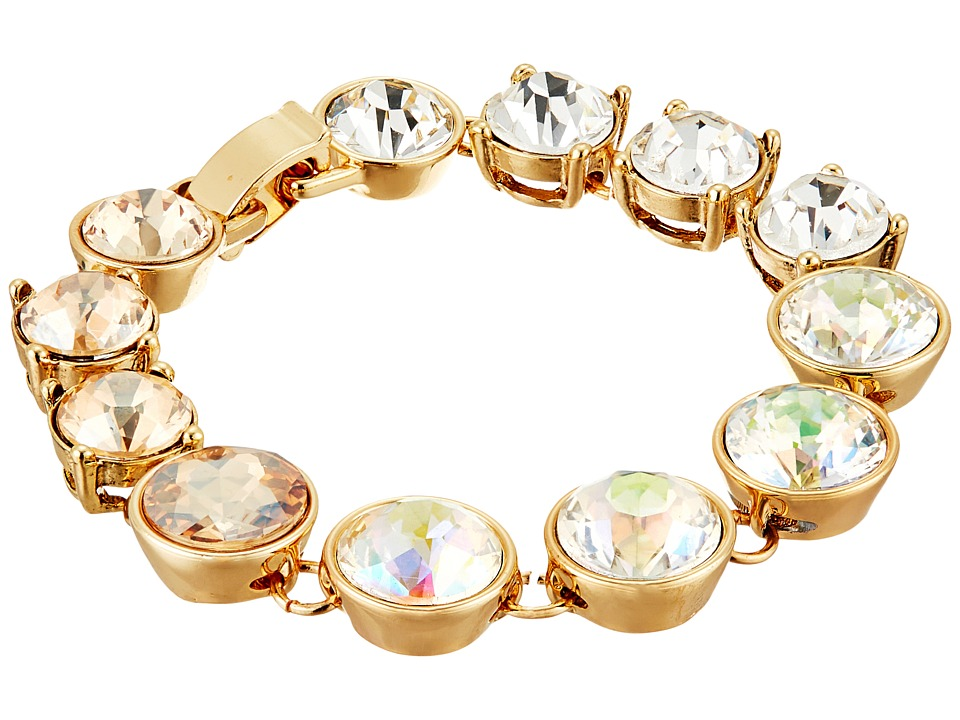 Betsey Johnson - Dream of Betsey Multi Stone Flex Bracelet (White) Bracelet