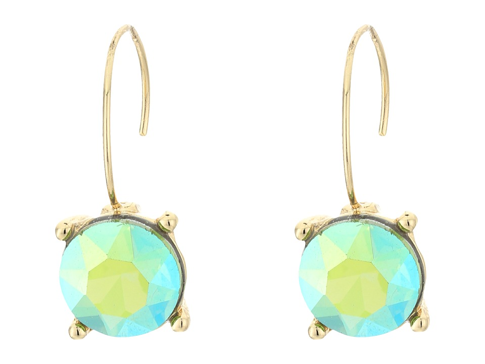 Betsey Johnson - Calypso Green Drop Earrings (Green) Earring