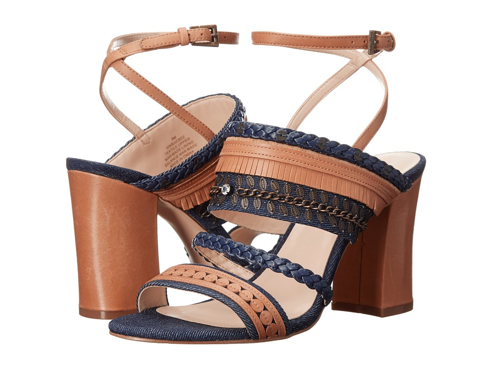 Nine West Baebee (Blue/Multi Denim) High Heels