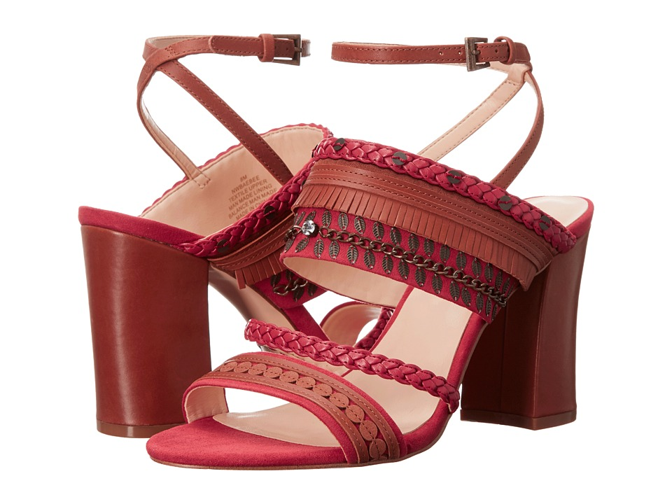 Nine West - Baebee (Red/Multi) High Heels