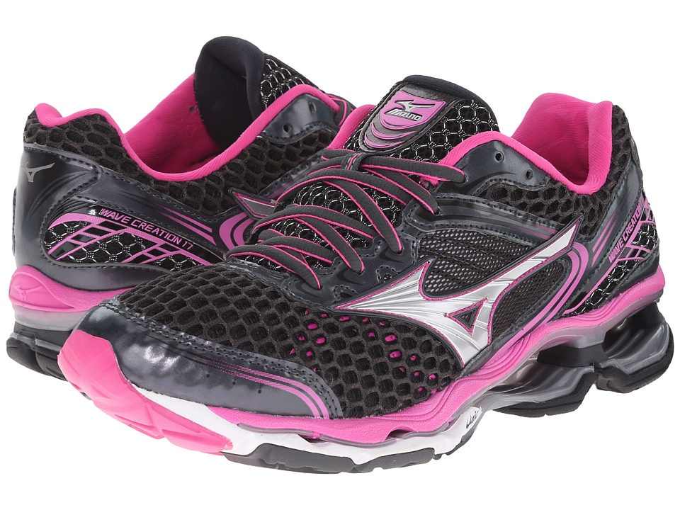 Mizuno - Wave Creation 17 (Dark Shadow/Electric) Women's Shoes