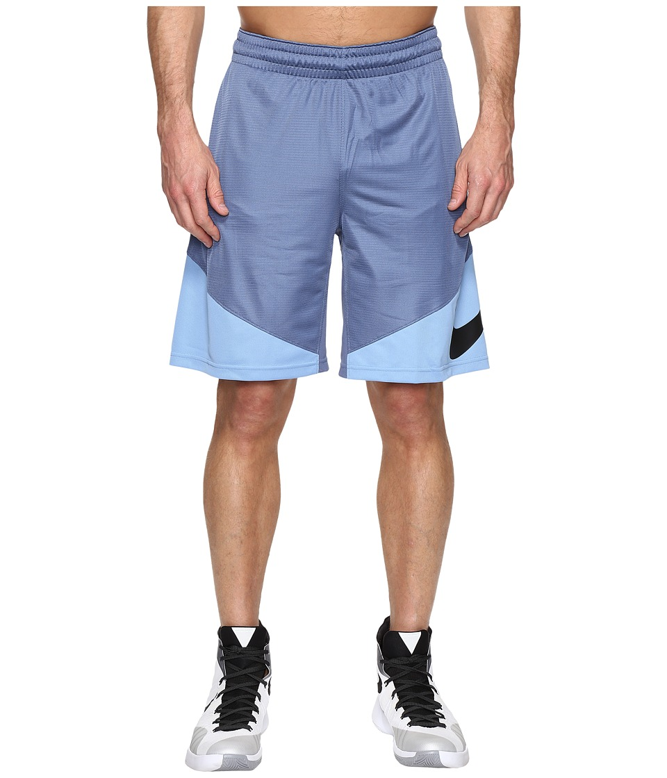 Nike - HBR Shorts (Ocean Fog/Light Blue/Light Blue/Black) Men's Shorts