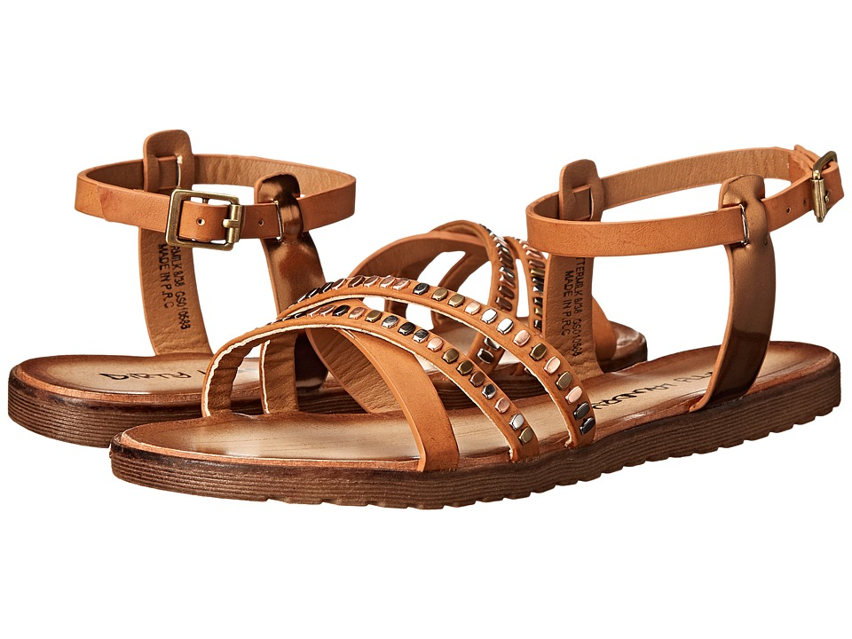 Dirty Laundry - Buttermilk Smooth (Caramel Synthetic) Women's Sandals