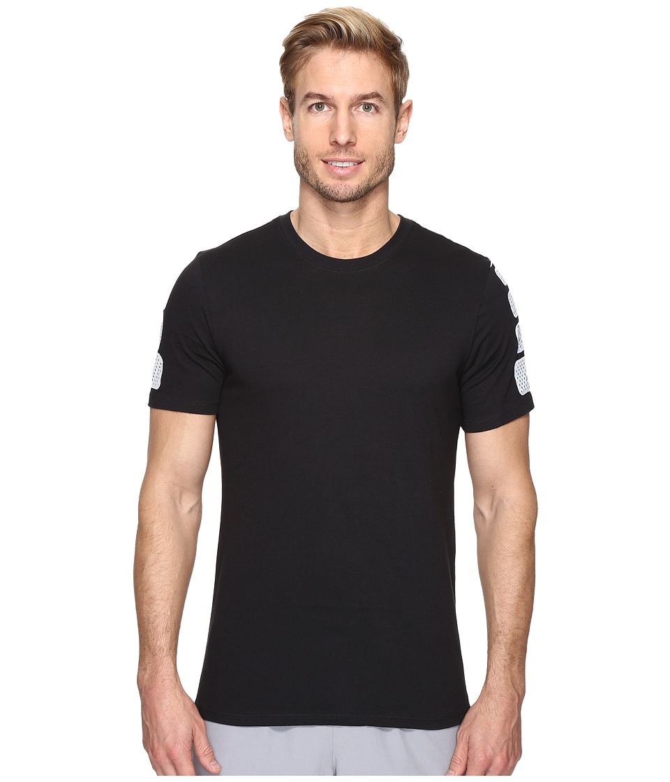Nike - Elite Short Sleeve Tee (Black/Black) Men's T Shirt
