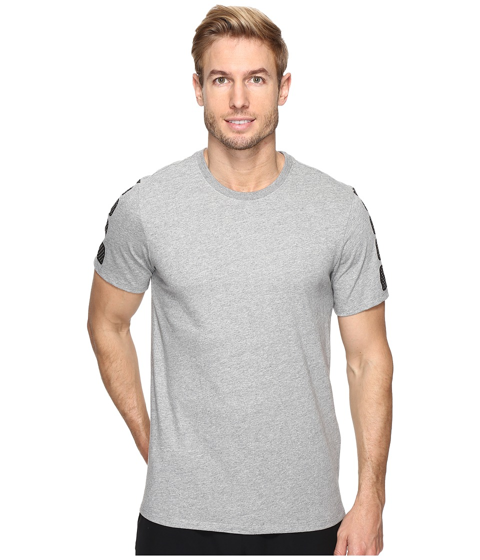 Nike - Elite Short Sleeve Tee (Dark Grey Heather/Dark Grey Heather) Men's T Shirt