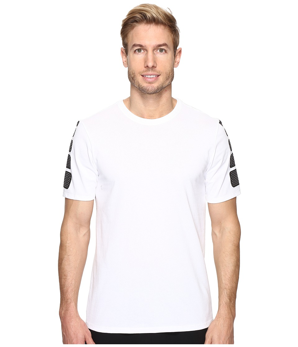 Nike - Elite Short Sleeve Tee (White/White) Men's T Shirt