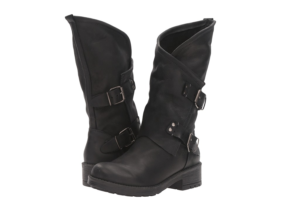 Coolway - Alida (Black Smooth) Women's Shoes