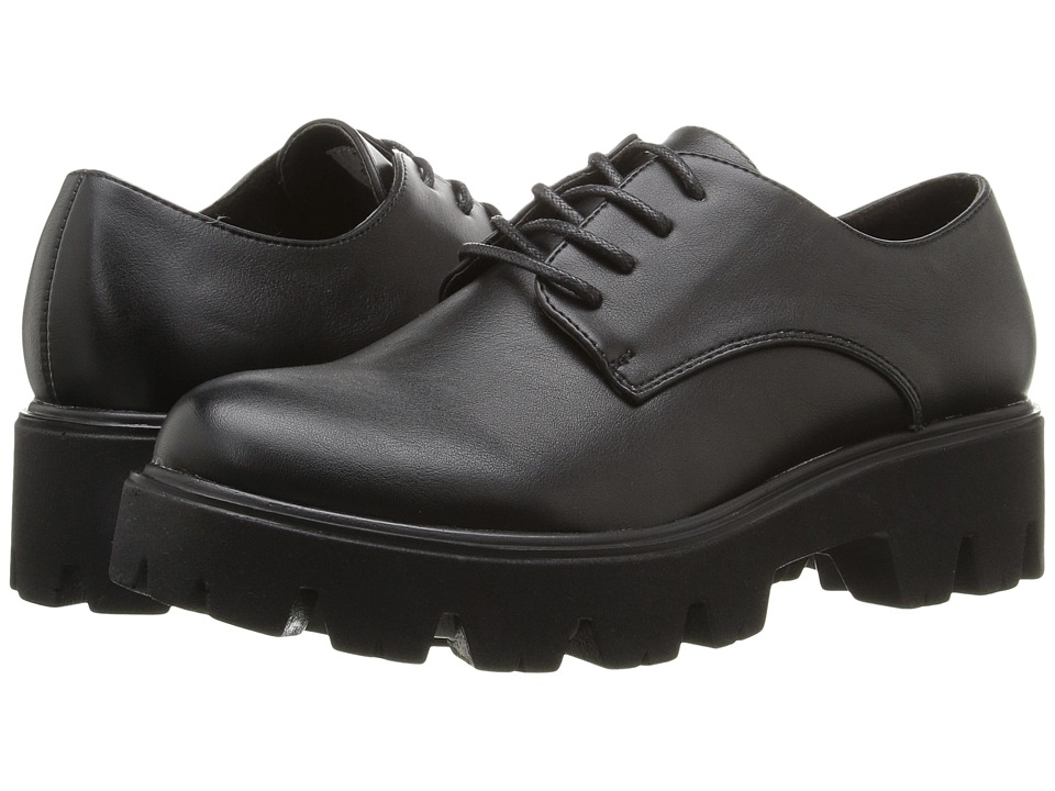 Coolway - Cady (Black Smooth) Women's Shoes