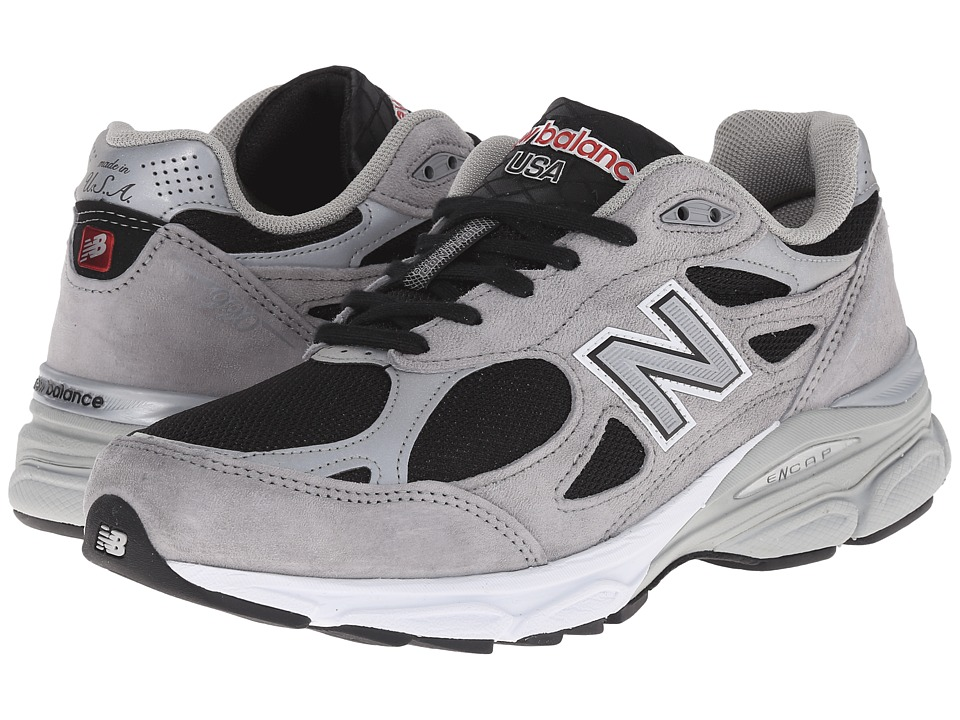 New Balance - M990GR3 (Grey Reflective/Black) Men's Shoes