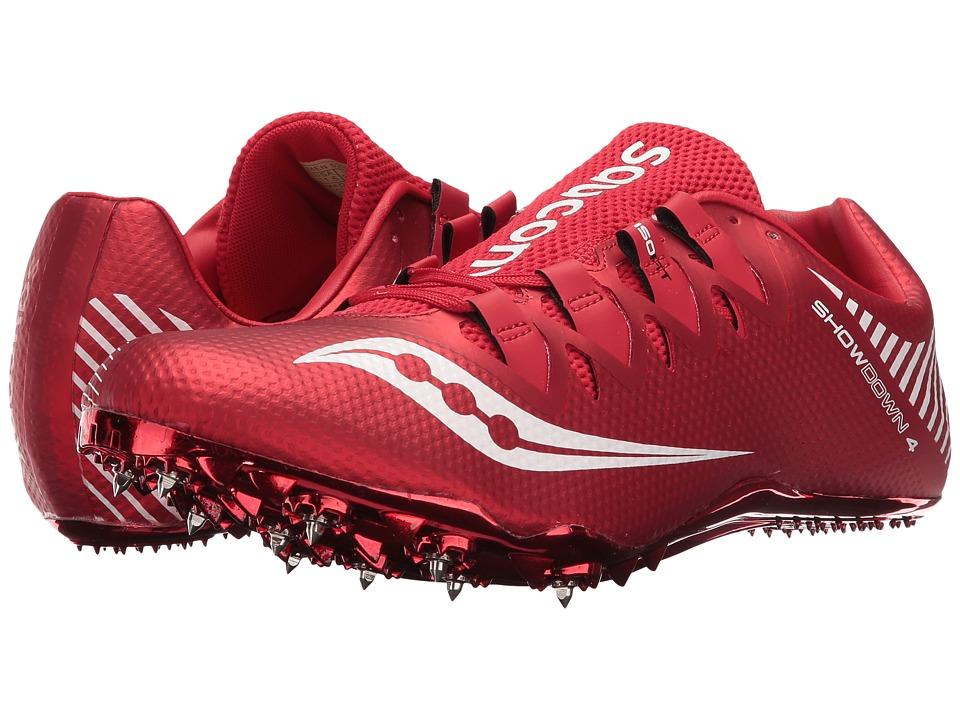 Saucony - Showdown 4 (Red/White) Men's Shoes