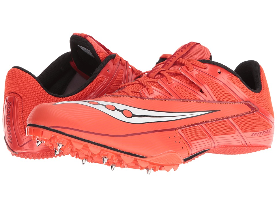 Saucony - Spitfire 4 (Red/White) Men's Shoes
