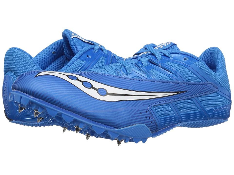 Saucony - Spitfire 4 (Royal/White) Men's Shoes