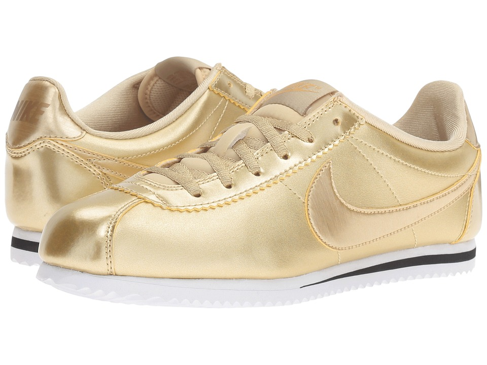 Nike Kids - Cortez SE (Big Kid) (Metallic Gold Star/Metallic Gold/Metallic Gold Star) Girls Shoes