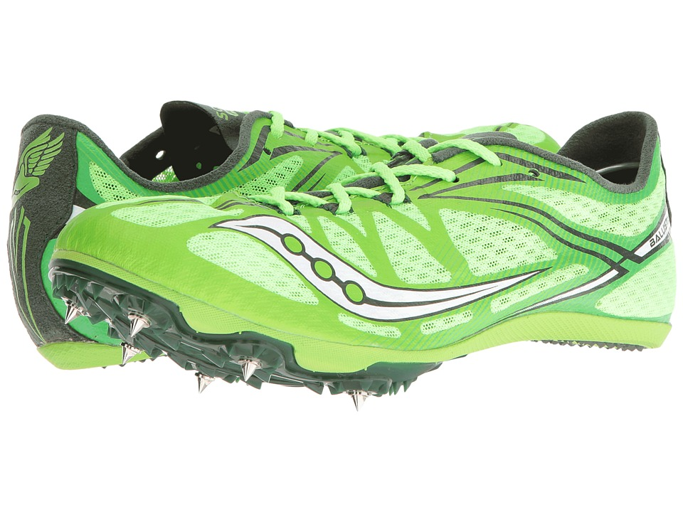 Saucony - Ballista (Slime/White) Women's Running Shoes