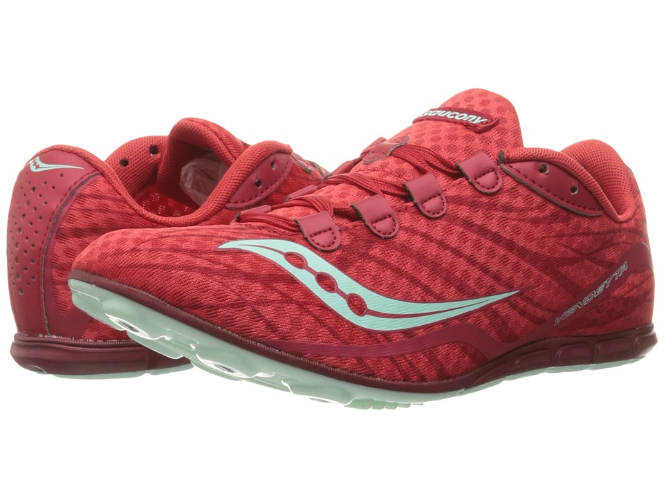 Saucony - Vendetta (Red/Blue) Women's Running Shoes