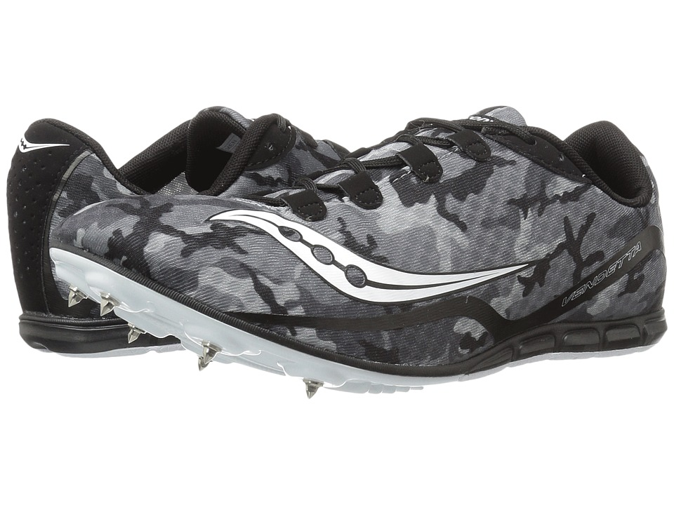 Saucony - Vendetta (Black/White) Men's Running Shoes