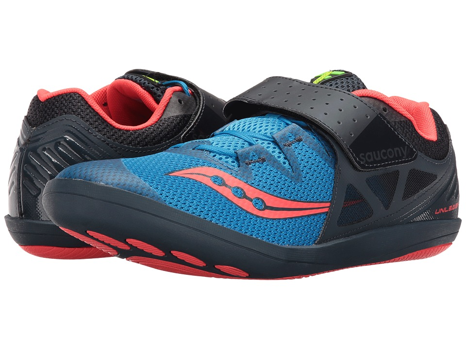 Saucony - Unleash SD 2 (Blue/Red) Men's Shoes